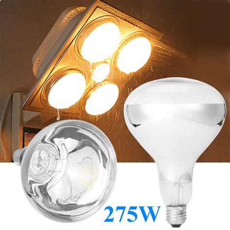 Bathroom Heat Light Bulb by E27 275w Infrared Heat L Light Bulb For Ceiling Exhaust