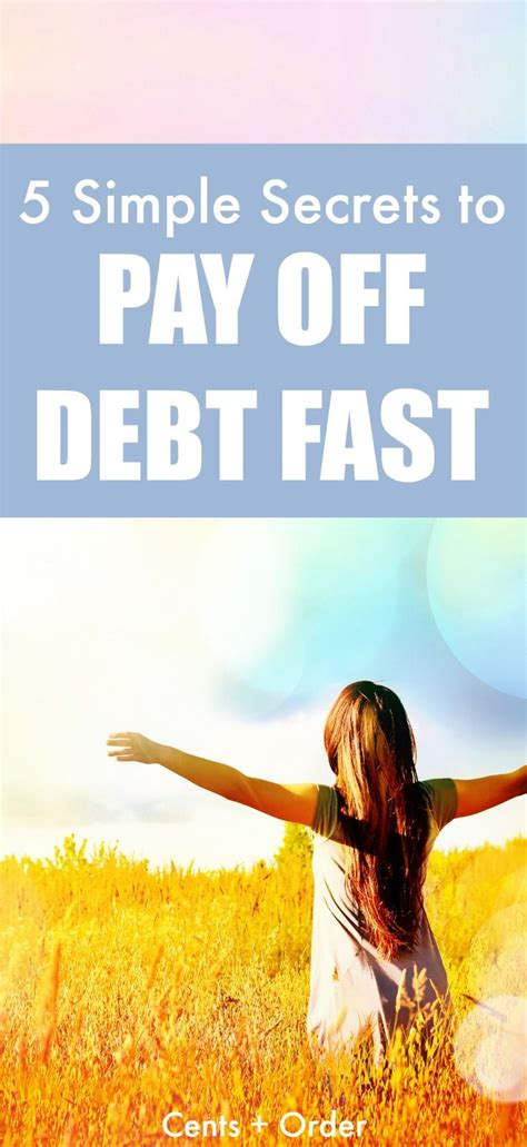 simple tips  pay  debt fast debt payoff paying