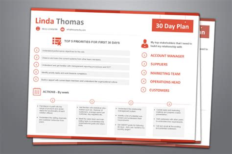 The 90 Days Plan Template by 19 30 60 90 Day Plan Templates Pdf Doc Free