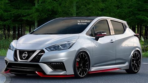 render novo nissan march micra  nismo  nissan youtube
