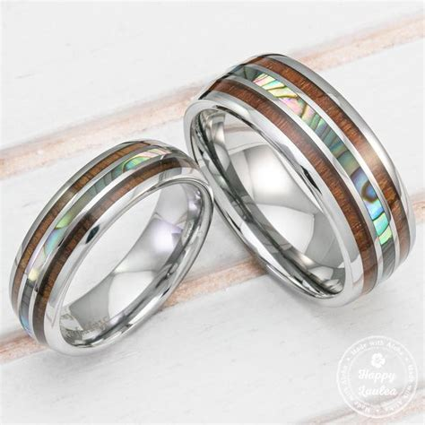 Tungsten Wedding Band Set With Mother Of Pearl Abalone Shell. Dazzling Diamond. Square Diamond Earrings. Dangling Earrings. Maroon Necklace. Guy Lockets. Emerald Cut Rings. Engagement Rings Platinum Band. Children Name Necklace