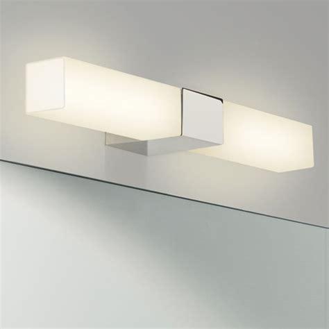 padova led square bathroom wall light   lighting