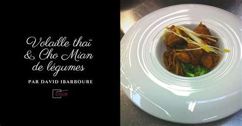 cours de cuisine anglet recette de volaille façon thaï par david ibarboure