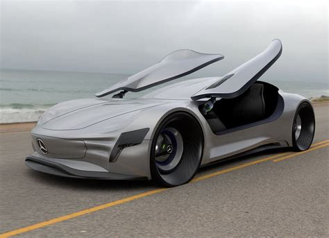 The Future Is Now  Mercedesbenz Slpure Concept