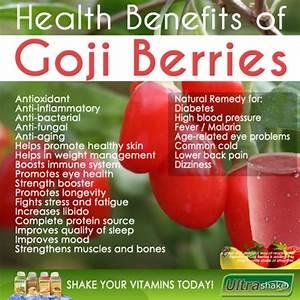 Goji the superfruit - Ultra-Shake