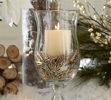 how to make christmas centerpieces with candles for tables