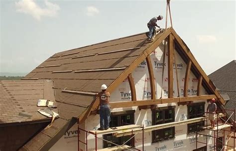 Installing Gable Trusses In Tennessee