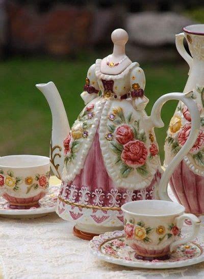 victorian tea set pictures   images