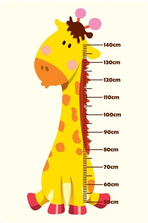 Baby Giraffe   Growth Chart   Hello Pretty. Buy design.