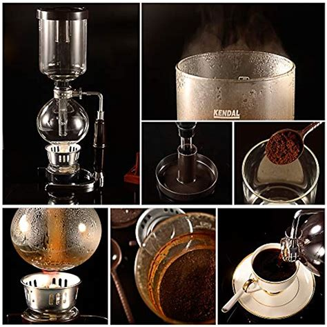 """The nispira siphon coffee maker is a well made piece of equipment that will definitely last for a long time if you take care of it. Glass Coffee Machines Tabletop Siphon (Syphon) Maker 5 Cups Kitchen """" Dining   eBay"""