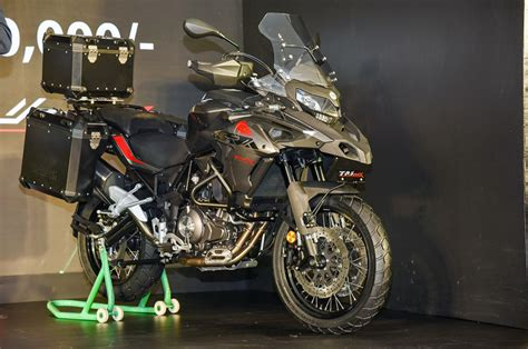 Trk 502x Image by 2019 Benelli Trk 502x Image Gallery Autocar India