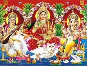 Laxmi Ganesh Saraswati Wallpaper HD Full Size Download ...