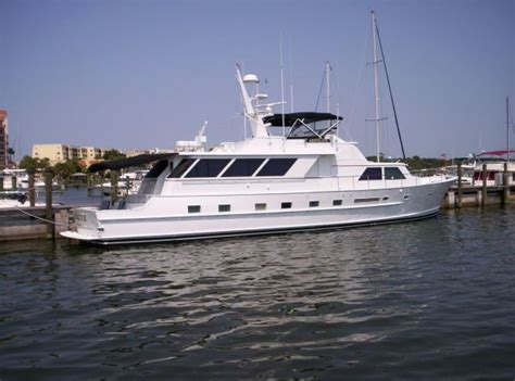 Free Used Boat History Report by 1980 Broward Raised Pilothouse Power Boat For Sale Www