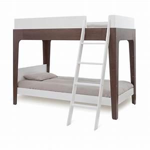 Barriere Lit Superposé : lit superpos perch noyer oeuf nyc pour chambre enfant ~ Premium-room.com Idées de Décoration