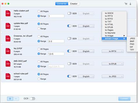 ocr software  mac   convert scanned