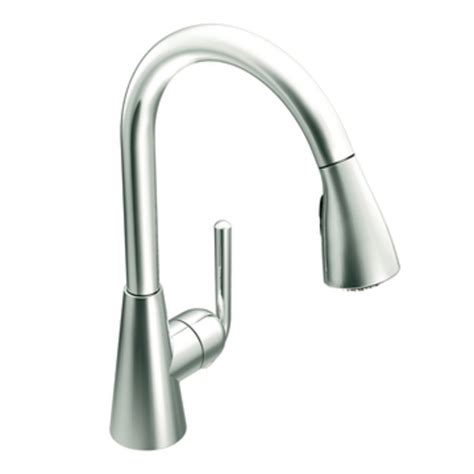moen one touch kitchen faucet moen s71708 ascent one handle high arc pulldown kitchen