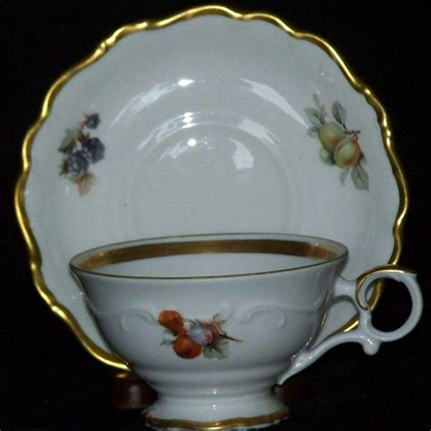 bavaria schumann arzberg bavaria schumann arzberg germany fruit 49 cup saucer set 5 available ebay