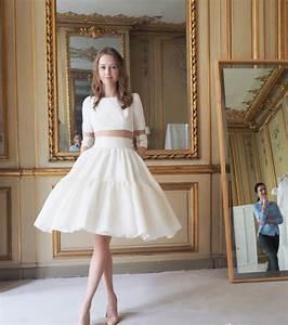 Robe De Mariee Courte : robe de mari e courte toutes les tendances pour 2017 ~ Preciouscoupons.com Idées de Décoration