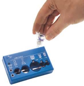 bulb tester for e10 e27 gu10 socket at westfalia mail order uk