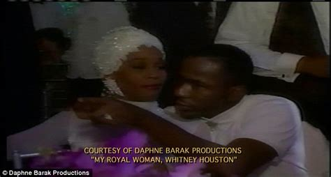 whitney houston and bobby brown wedding video unearthed
