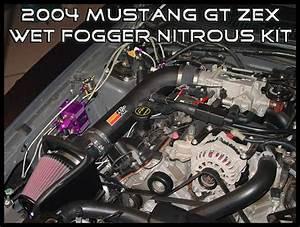 Mustang Gt Zex Wet Fogger Nitrous Kit Impression