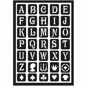 folkart classic alphabet peel and stick painting stencils With peel and stick letters for outdoor signs