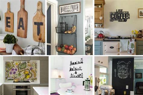 elegant kitchen wall decor ideas  empty walls beg