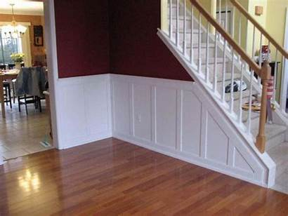 Wainscoting Flat Accent Stairway Classic Panel American