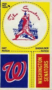 1968 Fleer Major League Baseball Team Logo Tallboy Cloth