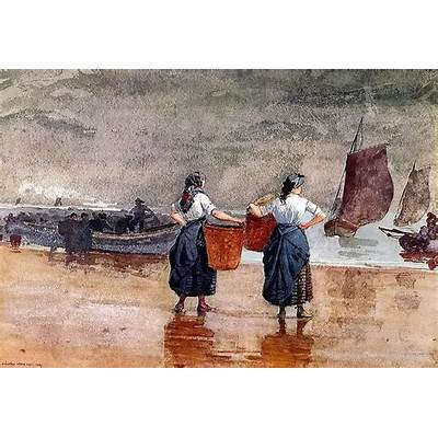 It's About Time: Women Working by the Sea - Winslow Homer