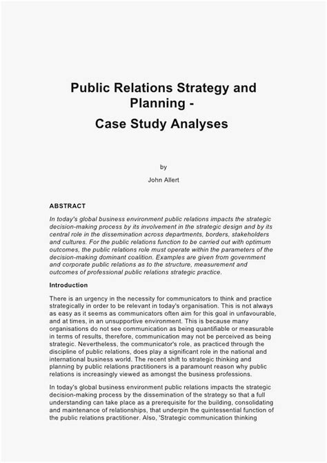 business case study analysis    write  business case study analysis