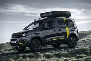 Peugeot Rifter 4x4 : peugeot rifter 4x4 adventure van concept hiconsumption ~ Medecine-chirurgie-esthetiques.com Avis de Voitures