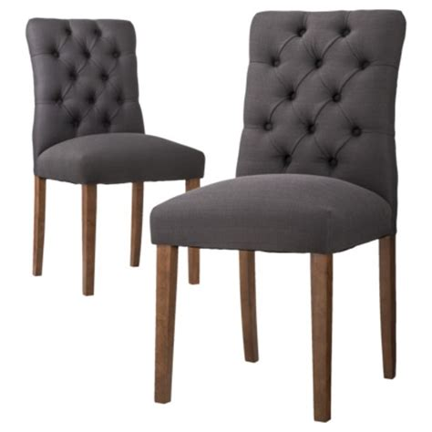 threshold brookline tufted dining chair set of 2 170