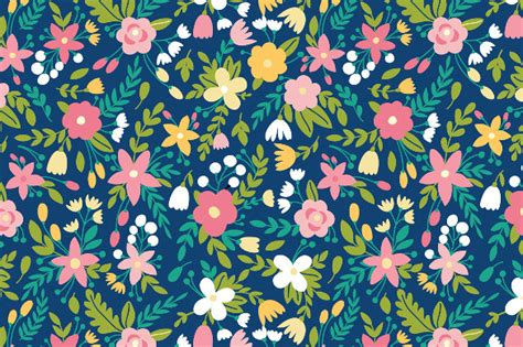 floral patterns   psd ai vector eps format