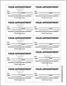 patient appointment cards template printable medical With medical appointment card template free