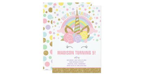 porte carte de visite de bureau carte or de d 39 invitation d 39 anniversaire de licorne