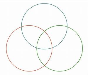 Triple Venn Diagram Templates  U2013 10  Free Word  Pdf Format