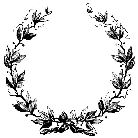 laurel wreath clip art clipartsco