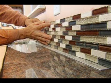 how to install kitchen backsplash glass tile how to install a glass tile backsplash this house
