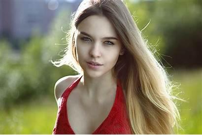 Gorgeous Portrait Wallpapers Blonde Halter Bokeh Face