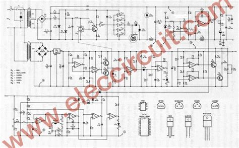 Switching Power Supply Circuit Project