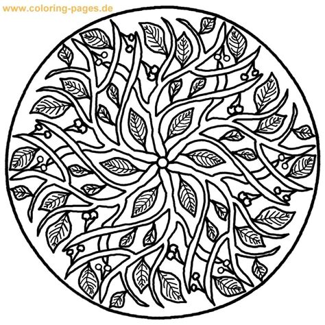 Coloring Pages Mandala Page Free