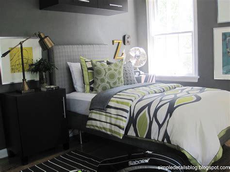 Simple Details Teen Boy's Bedroom