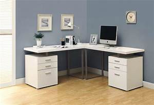 L Shaped Convertible Desk IKEA For Standing — Home & Decor
