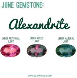 birthstone necklace joan morais naturalsjune gemstone alexandrite joan