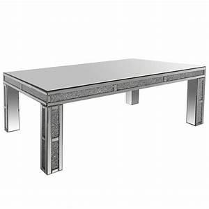 Table Basse Miroir : table basse miroirs venizia ~ Melissatoandfro.com Idées de Décoration