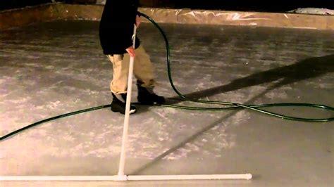 Backyard Rink Resurfacer by Resurfacing Your With The Jake Rake