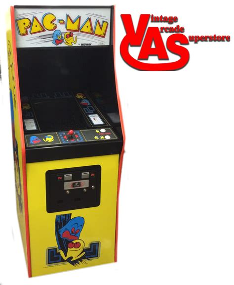 Pacman Arcade Game For Sale Vintage Arcade Superstore