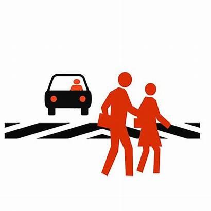 Crosswalk Safety Illustration Pedestrian Accident Royalty Port