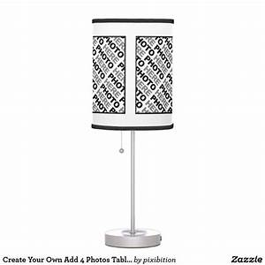 Create, Your, Own, Add, 4, Photos, Table, Lamp, 1